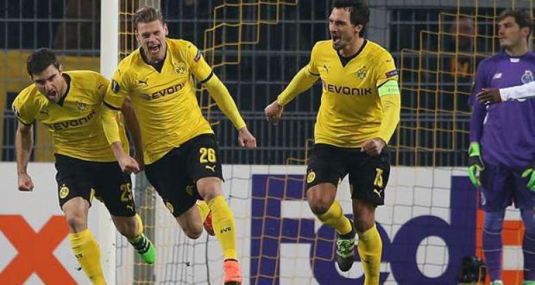 Dortmund Porto'ya avantajı bırakmadı