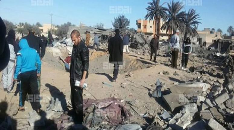 ABD Libya'da IŞİD'i vurdu!
