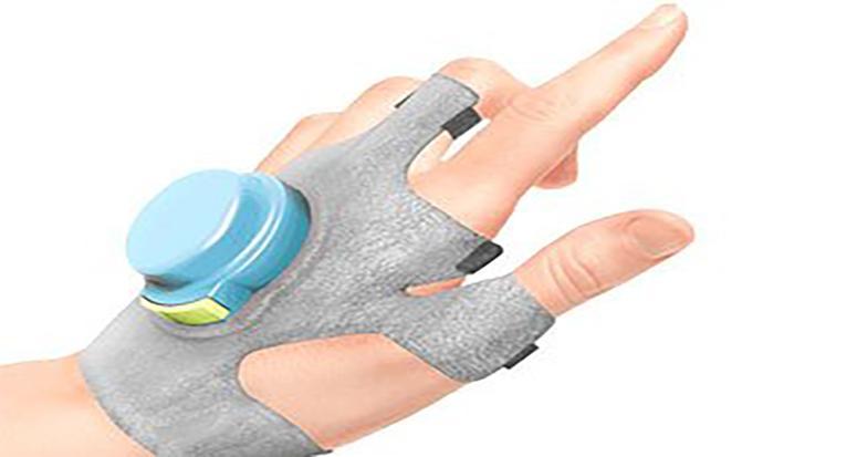 Parkinson hastaları için özel eldiven