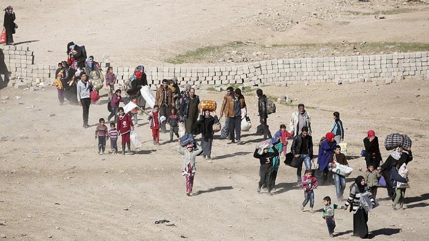 Musul'dan göç edenlerin sayısı 178 bine ulaştı