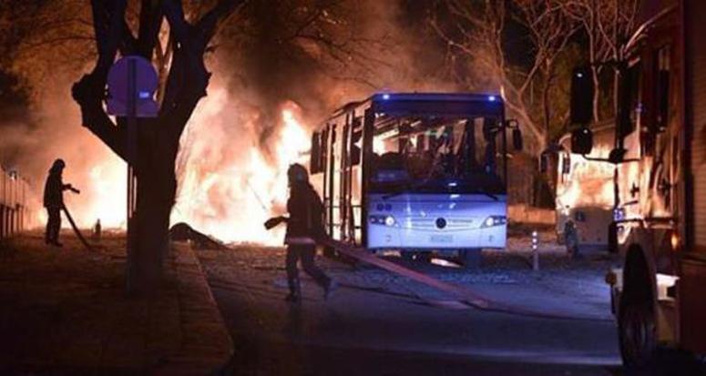 Ankara saldırısında 14 tutuklama