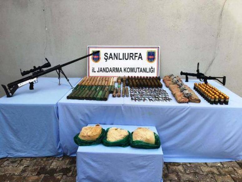 PYD'den gönderilen silahlar  bulundu!