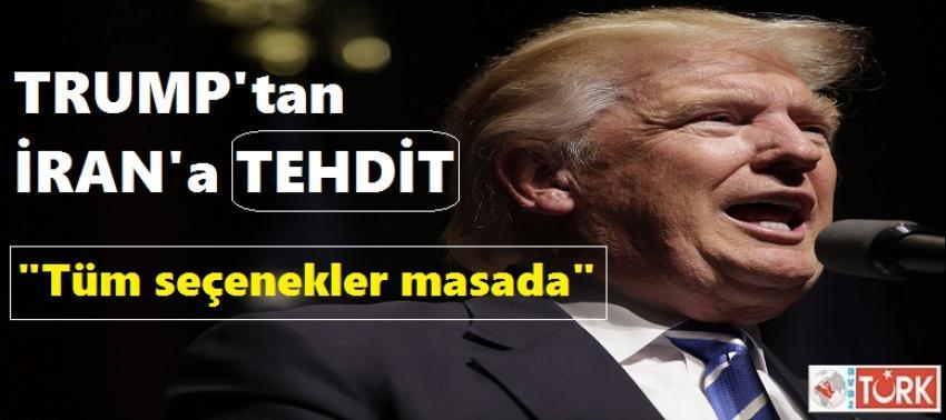 Trump'tan İran'a Askeri Müdahale Açıklaması!