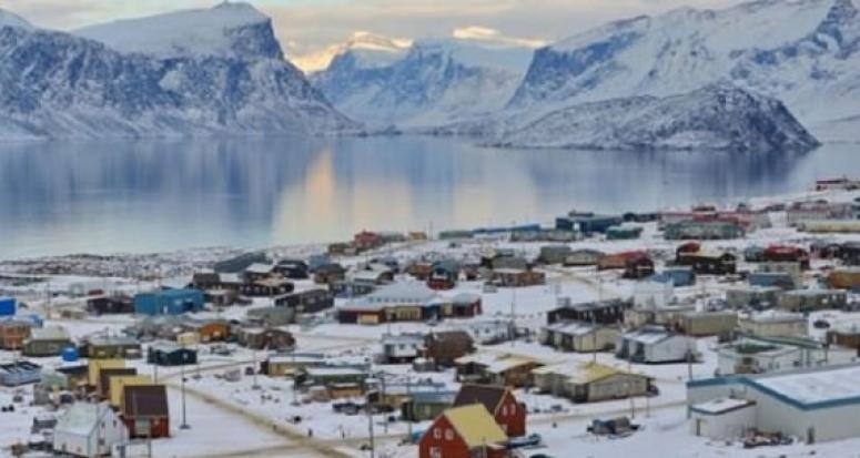 Buzullarda ilk kez bir cami yapıldı