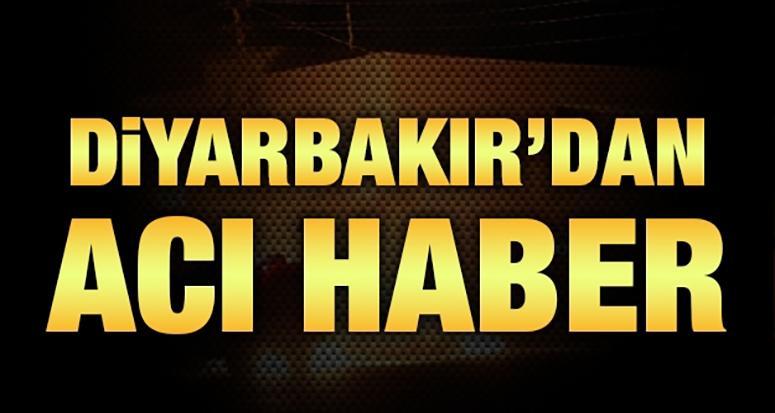 Diyarbakır'dan acı haber: 1 asker şehit