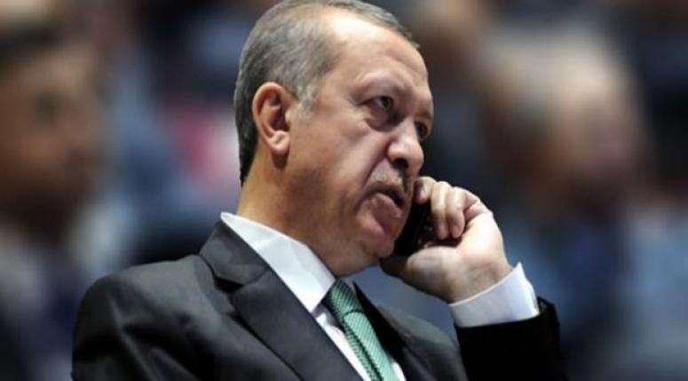 Erdoğan'dan Bülent Arınç'a telefon