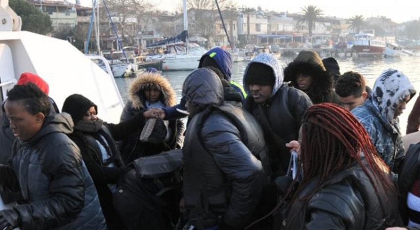52 göçmen yakalandı