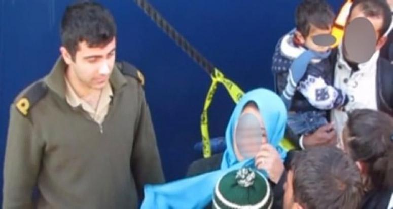 Sığınmacı teknesine binen aile PKK'dan kaçtı!
