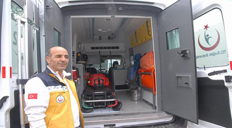 Diyarbakır'da zırhlı ambulans dönemi