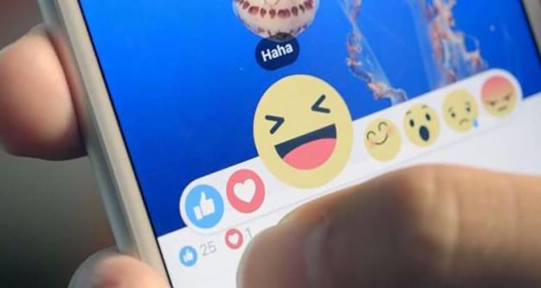 Facebook'da like tuşunun yanına altı yeni emoji