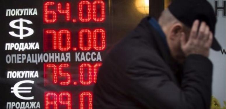 Rusya ekonomisi çöküyor!