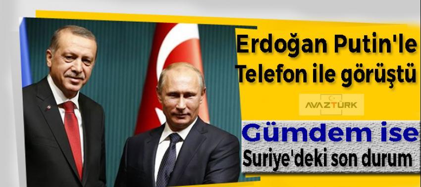 Cumhurbaşkanı Erdoğan Putin'le görüştü!