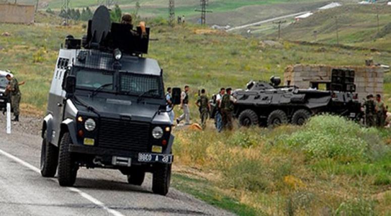 Şırnak'ta askeri araca saldırı!