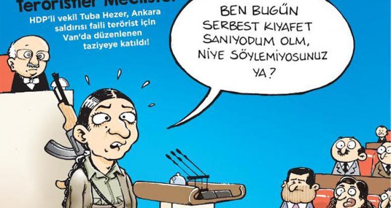 Hacamat Dergisi HDP'ye 'kapak' gibi kapak yaptı