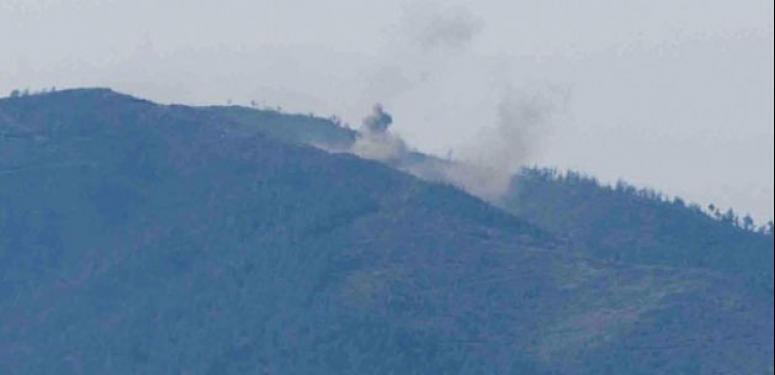 Türkmendağı'nda çatışmalar şiddetlendi