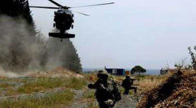 Hakkari'de PKK'nın inlerine girildi
