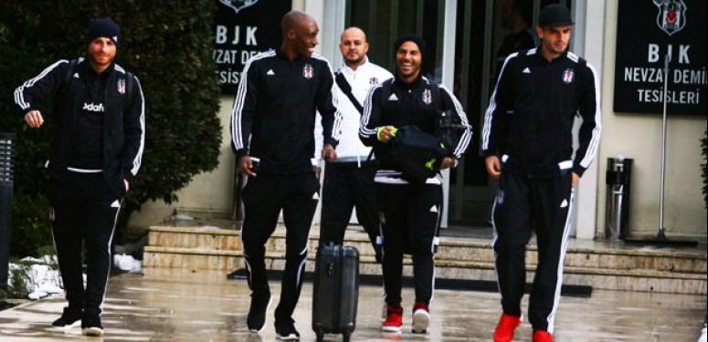 Beşiktaş Trabzon'a Boyko'suz gitti