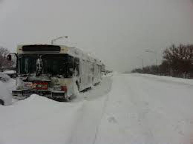 Süper gücü kar fırtınası vurdu: 10 ölü