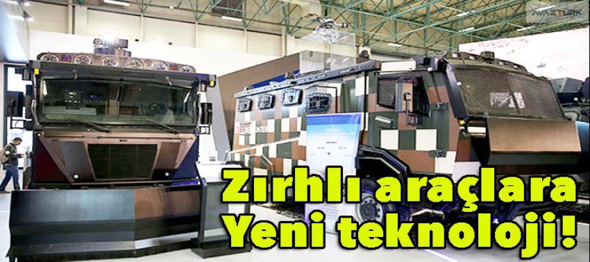 Zırhlı araçlara yeni teknoloji!