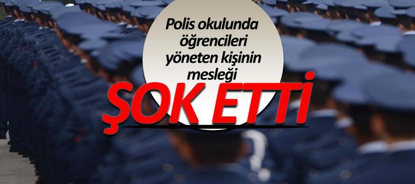 Polis Okulu'nda garson olarak çalışıyor, mahrem imamlığı yapıyor!