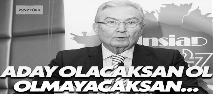 Baykal'dan Kılıçdaroğlu'na: Aday olacaksan ol!