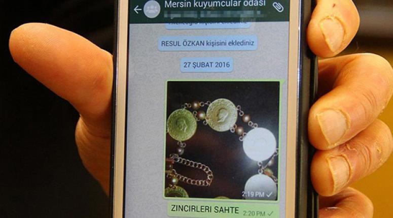 Dolandırıcılara karşı kuyumcular whatsapp grubu kurdu