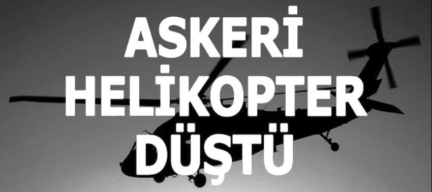TSK: Şırnak'taki helikopter kazasında 13 asker şehit oldu