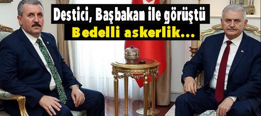 Destici, Başbakan ile görüştü: Bedelli askerlik...