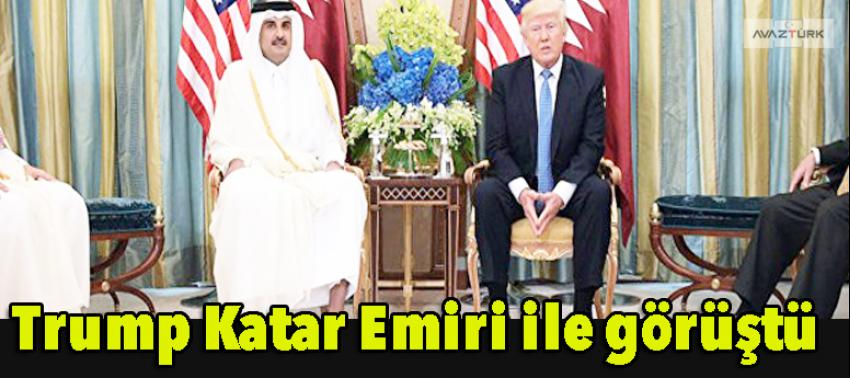 Trump, Katar Emiri ile görüştü