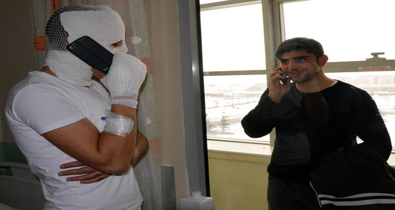 Erzurum'da sigara faciası!