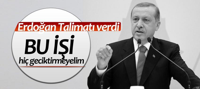 Cumhurbaşkanı Erdoğan'dan içtüzük talimatı!