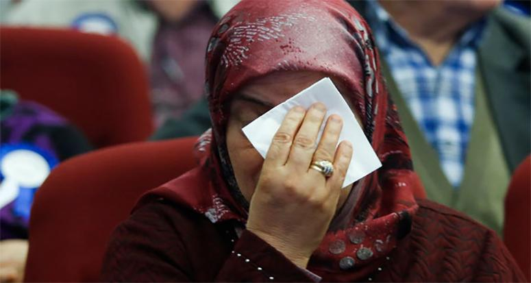Kuralar çekildi gözyaşları sel oldu!