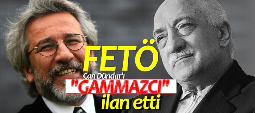 FETÖ Can Dündar'ı 'Gammazcı' ilan etti!