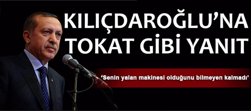 Erdoğan Kılıçdaroğlu'na tokat gibi yanıt