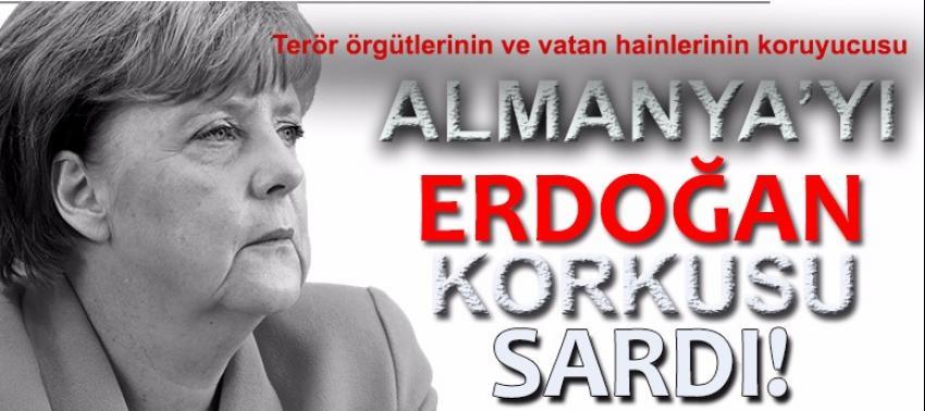 Almanya, Cumhurbaşkanı Erdoğan'ın korumalarından korktu!