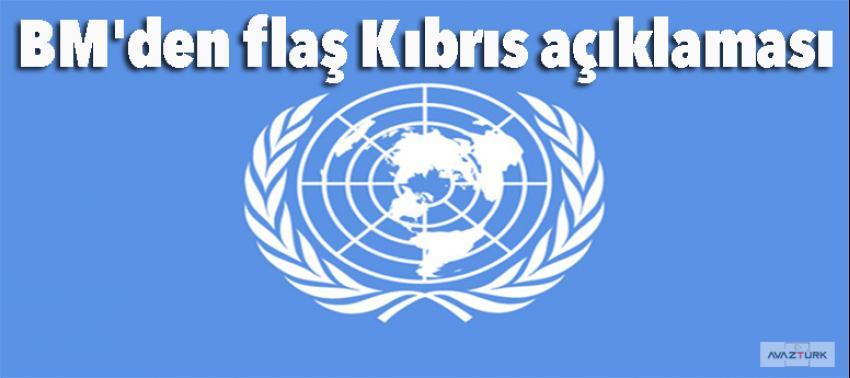 BM'den flaş Kıbrıs açıklaması