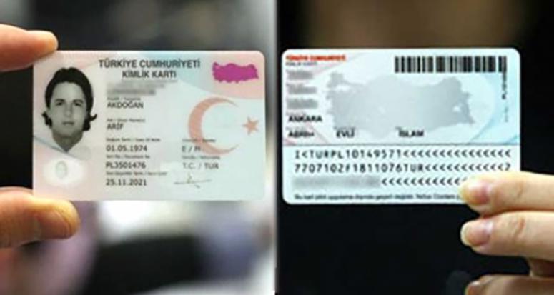 Yeni 'kimlik kartların da' güvenlik önlemi
