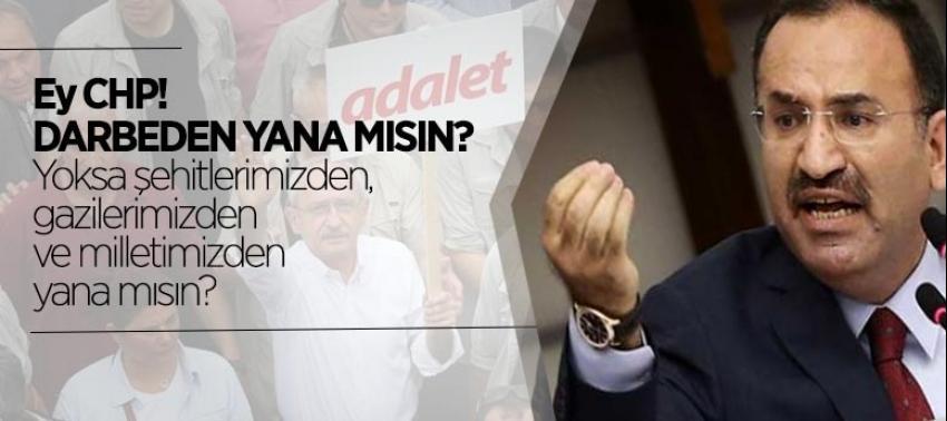 Bozdağ'dan CHP'ye sert tepki!