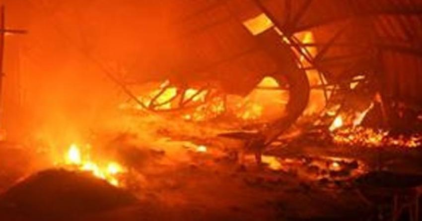 İran'da askeri depoda patlama