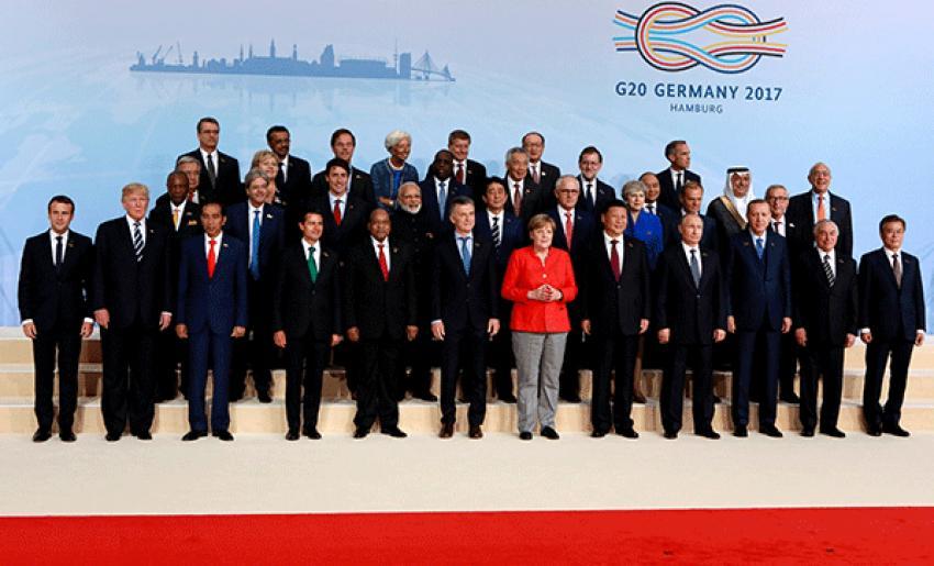 G-20 ülkelerinin bakanları otellerinde mahsur kaldı