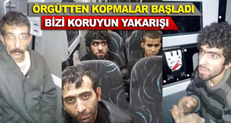 PKK'lı terörist askerin ayağını öpmek istedi