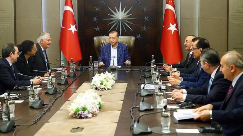 Cumhurbaşkanı Erdoğan'dan önemli görüşme!