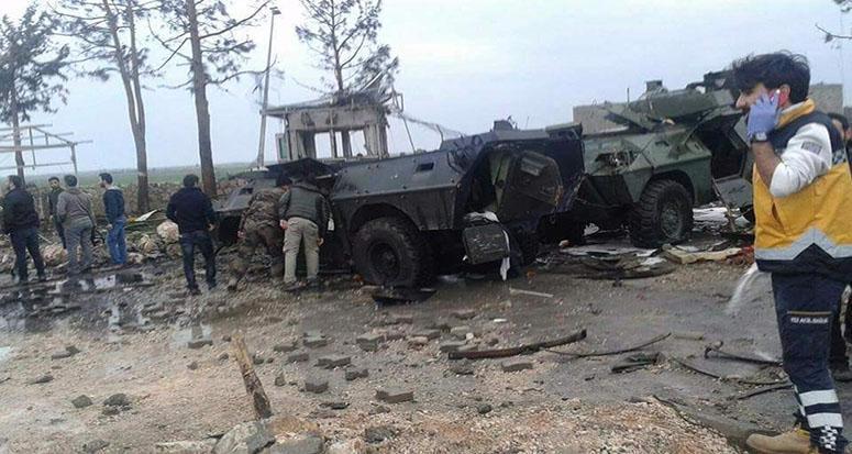 Polise hain saldırı: 2 şehit 35 yaralı