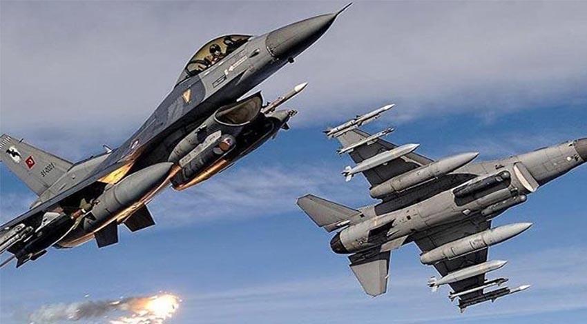 TSK'dan hava operasyonu!
