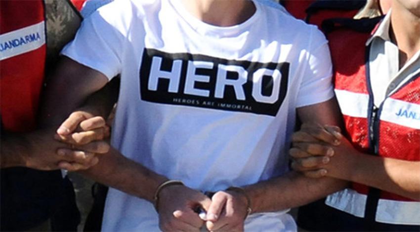 Yine 'hero' provokasyonu! Bu kez sanık yakını giydi