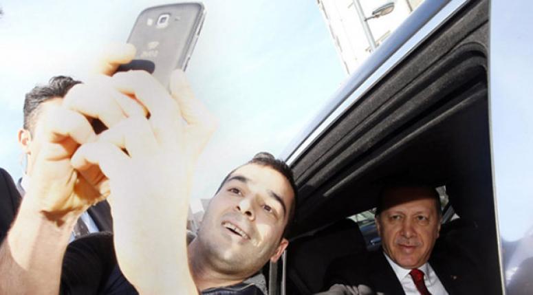 'Konvoyu durduran selfie'