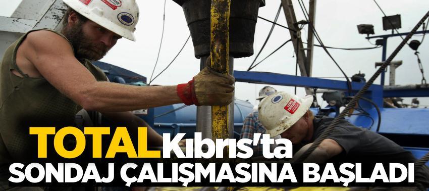 Total, Kıbrısta sondaj çalışmalarına başladı