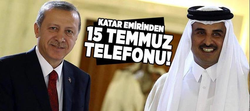 Katar Emiri Al Sani'den Cumhurbaşkanı Erdoğan'a 15 temmuz telefonu!