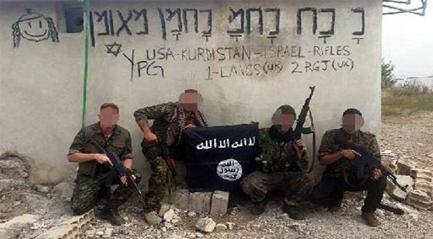 PKK operasyonunda 1 İngiliz ve 2 Bulgar'a gözaltı!