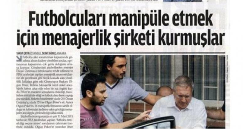 Fenerbahçe'den Zaman Gazetesi'ne veryansın: Kumpas merkezi